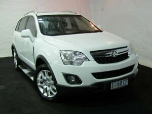 2012 Holden Captiva CG Series II 5 AWD White 6 Speed Sports Automatic Wagon Derwent Park Glenorchy Area Preview