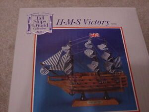 New H.M.S. Victory tall ship model