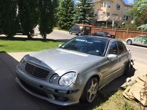 2003 Mercedes-Benz E-Class e55 amg with over 500 bhp ACTIVE