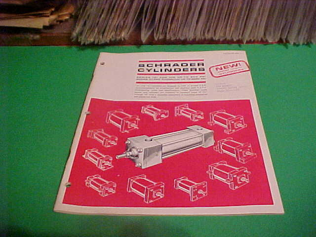 1969-70? SWEETS EQUIPMENT CATALOG BOOKLET SCHRADER A & L CYCLINDERS