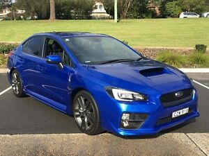 2015 Subaru WRX MY15 Premium (AWD) Blue 8 Speed CVT Auto 8 Speed Sedan Lisarow Gosford Area Preview