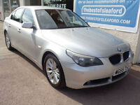 BMW 520 2.0TD 2005 d SE Full S/H 9 stamps £2510 added extras p/x