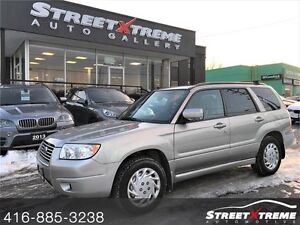 2007 Subaru Forester **ALL WHEEL DRIVE & ONLY $93.49 BIWEEKLY**