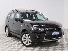 2011 Mitsubishi Outlander ZH MY11 Activ (FWD) Black 6 Speed CVT Auto Sequential Wagon Atwell Cockburn Area Preview