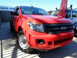 2013 Ford Ranger PX XL 4x2 Red 6 Speed Manual Cab Chassis Enfield Port Adelaide Area Preview