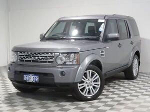 2013 Land Rover Discovery 4 MY13 3.0 TDV6 Silver 8 Speed Automatic Wagon Jandakot Cockburn Area Preview