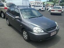 2003 Kia Rio MY03 LS Grey 5 SPEED Manual Hatchback Greenslopes Brisbane South West Preview