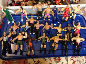 Job lot WWF Wrestling Figures Model X40