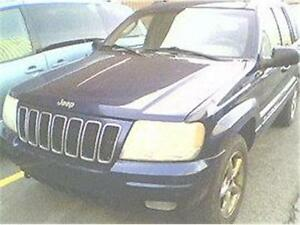 2002 JEEP GRAND CHEROKEE LIMITED, RÉDUIT 2480$ 514-817-0095