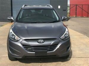 2014 Hyundai ix35 LM Series II Active (FWD) Grey 6 Speed Automatic Wagon Fyshwick South Canberra Preview
