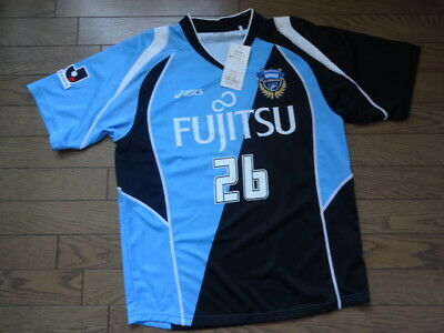 Kawasaki Frontale #26 Takasu 100% Original Jersey 2010 J-League L NWT Rare image