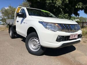 2016 Mitsubishi Triton MQ MY16 GLX 4x2 White 5 Speed Manual Cab Chassis Townsville Townsville City Preview
