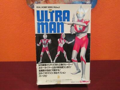 1980's VINTAGE ULTRAMAN REAL HOBBY SERIES LIGHT-UP MODEL MIB BANDAI -