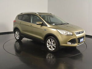 2013 Ford Kuga TF Trend AWD Green 6 Speed Sports Automatic Wagon Welshpool Canning Area Preview
