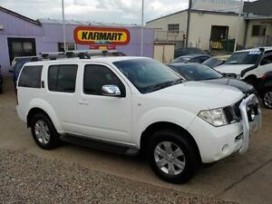 2005 Nissan Pathfinder R51 ST (4x4) White 6 Speed Manual Wagon North St Marys Penrith Area Preview
