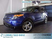 2013 Ford Explorer Limited-Moon Roof-Nav-Active Park Assist