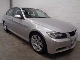 BMW M-SPORT , 2006 REG , LOW MILES + FULL HISTORY , YEARS MOT , FINANCE AVAILABLE , WARRANTY