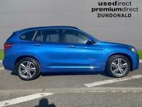 2017 BMW X1 Sdrive 18D M Sport 5Dr Step Auto Estate Diesel Automatic