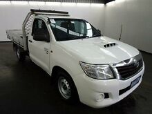 2013 Toyota Hilux KUN16R MY12 SR White 5 Speed Manual Cab Chassis Yagoona Bankstown Area Preview