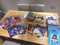 Job Lot Guitar Tab and Lick Library DVD's.