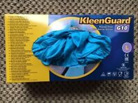 PREMIUM NITRILE GLOVES, LARGE, POWDER FREE. COST £13.49 FROM EURO CAR PARTS