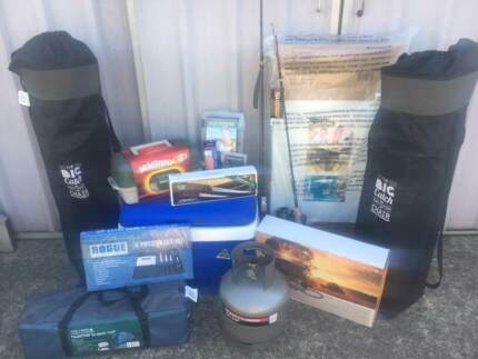 BRAND NEW - Ultimate Camping and Fishing Package - RRP $1300