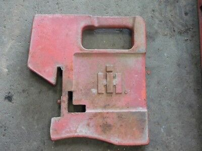 International Harvester Tractor Suitcase Weight 100lb. Tag 117