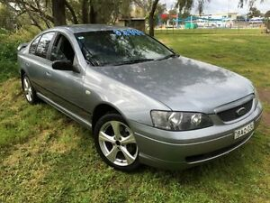 2004 Ford Falcon BA XT Mercury Silver 4 Speed Auto Seq Sportshift Sedan Coonamble Coonamble Area Preview