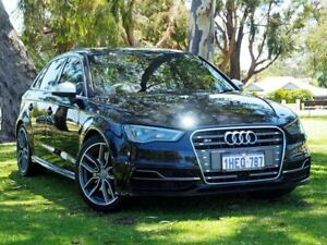 2014 Audi S3 8V MY14 Sportback S Tronic Quattro Black 6 Speed Sports Automatic Dual Clutch Hatchback Myaree Melville Area Preview