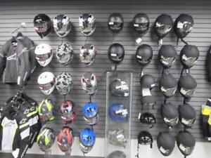All Motorcycle gear is on clearance, everything market down!