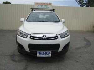 2012 Holden Captiva CG Series II 7 SX (FWD) White 6 Speed Automatic Wagon Windsor Gardens Port Adelaide Area Preview