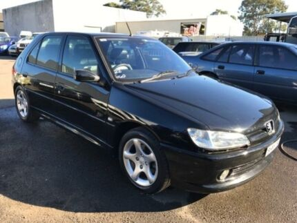 2001 Peugeot 306 N5 XSI Black 5 Speed Manual Hatchback