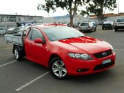 2008 Ford Falcon FG (LPG) Red 4 Speed Auto Seq Sportshift Cab Chassis Maidstone Maribyrnong Area Preview