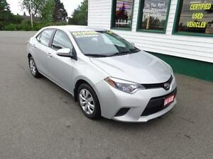 2014 Toyota Corolla LE for only $117 bi-weekly all in!