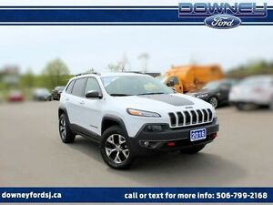 2016 Jeep Cherokee TRAILHAWK 4X4 LEATHER TRIM BACKUP CAMERA ALL