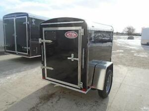 4x6 Atlas Enclosed - EASY TO HAUL W/ ANY VEHICLE!! London Ontario image 4