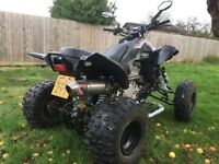 dinli 450 quad bike 2000 miles mint condition £3.400 9 months mot