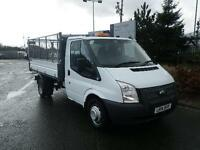Ford Transit 2.2 TDCI 100ps MWB SC CAGED TIPPER