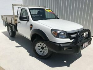 2009 Ford Ranger PK XL White 5 Speed Manual Cab Chassis Mundingburra Townsville City Preview