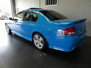 2005 Ford Falcon BF XR6T Blue 6 Speed Auto Seq Sportshift Sedan Woodridge Logan Area Preview
