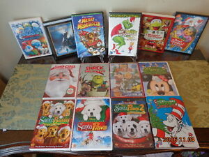 Children's Christmas Movies: 14 DVDs for $25!  Many Favourites!