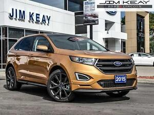 2015 Ford Edge Sport 6-Speed Selectshift Automatic W/Paddle Acti