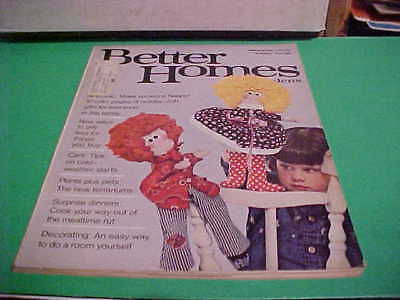 NOVEMBER 1974 BETTER HOMES & GARDENS MAGAZINE 10 COLOR PAGES HOLIDAY CRAFTS - November Coloring Pages