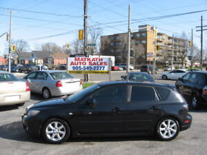 """**2005 Mazda """"3"""",  5 speed Manual**  Certified & E-tested"""