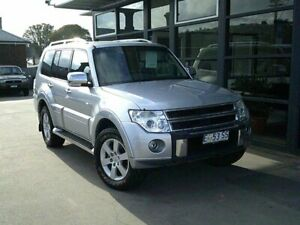 2011 Mitsubishi Pajero NT MY11 RX Silver 5 Speed Sports Automatic Wagon Launceston Launceston Area Preview