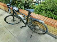 Hybrid bike electric mountain bike