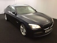 2011 BMW 7 Series 3.0 730d M Sport NEW SHAPE 4dr ** FBMWSH + THOROUGHLY IMMACULATE ** not 520 530