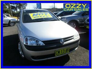 2003 Holden Barina XC CD Silver 4 Speed Automatic Hatchback Minto Campbelltown Area Preview
