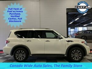 2018 Nissan Armada 4X4,SL,Navigation, Sunroof, 3rd Row Seating,