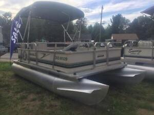 ***WE FINANCE*** 2006 16' PONTOON - 4 STROKE MERC BIGFOOT,